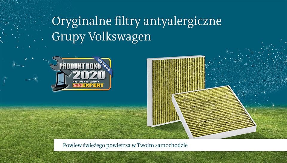 Filtry antyalergiczne Grupy Volkswagen
